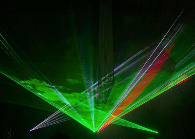"Lasershow ""Apollo Art of Laser & Fire"""