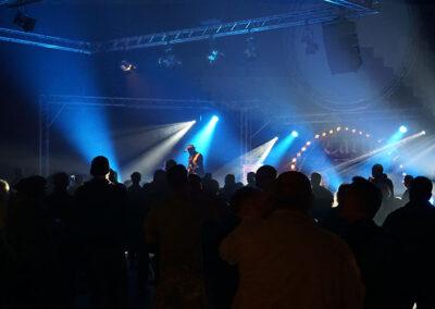 Lord Bishop on Stage